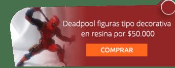 Deadpool figuras tipo decorativa en resina por $50.000 - C.S.I - Creaciones Sin Igual