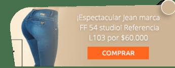 ¡Espectacular Jean marca FF 54 studio! Referencia L103 por $60.000 - Studio FF 54
