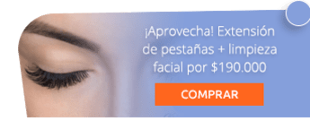 ¡Aprovecha! Extensión de pestañas + limpieza facial por $190.000 - Centro de Estética y Spa Viviana Melo