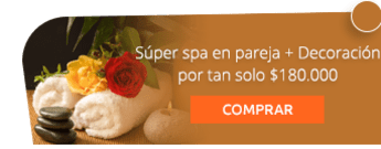 Súper spa en pareja + Decoración por tan solo $180.000 - Coral Estetica y Spa