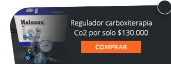Regulador carboxiterapia Co2 por solo $130.000 - Indegas Bogotá