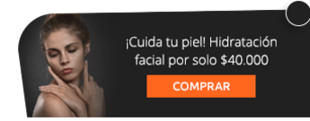 ¡Cuida tu piel! Hidratación facial por solo $40.000 - Sarani Spa & Beauty Care