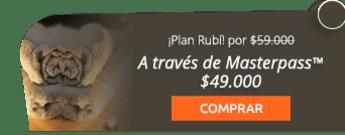 ¡Plan Rubí, Ven con tu pareja y pagas1! Spa por solo $59.000 - Happy Family Club