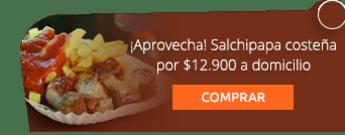 ¡Aprovecha! Salchipapa costeña por $12.900 a domicilio - Sofía Express