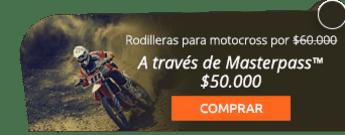 Rodilleras para motocross por $60.000 - Ac-sports
