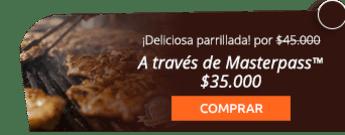 Parrillada + Bebida + Postre para dos personas por solo $45.000 - Restaurante Verde Viche