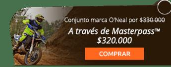 Conjunto para moto o Downhill por $330.000 - Ac-sports