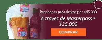 Deliciosos pasabocas para tus fiestas por $45.000 - Alimentos El Toke