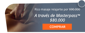 Rico masaje relajante descontracturante por $90.000 - Natural & Spa