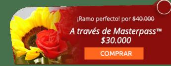 Ramo de flores + 12 rosas y un girasol + domicilio por $40.000 - Variedades Surtiflor