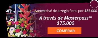 Lindo arreglo floral + globo metalizado por $85.000 ¡Domicilio gratis! - Flores y Regalos Bogotá