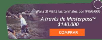 ¡Son 3 personas! Visita las termales por $150.000 - Finca Hotel Spa Zhay