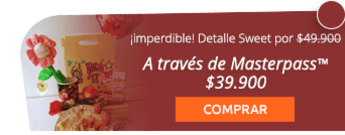 Gratis ramo de rosas por compra de este detalle por $49.900 - Desayunos Sweet House