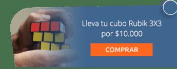 Lleva tu cubo Rubik 3X3 por $10.000 - Fiesta de Piñatas