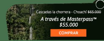 ¡Caminata! Cascadas la chorrera - Choachí por $65.000
