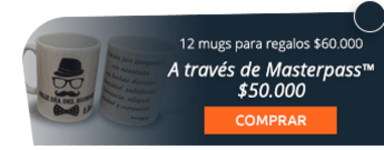 12 mugs para regalos de fin para año por $60.000 - Taller de Diseño
