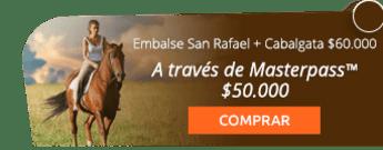 Cabalgata con vista al embalse San Rafael por $60.000 - Aventura Extrema La Calera