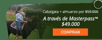 Súper cabalgata ecológica + almuerzo especial por $59.000 - Lomitas Gourmet