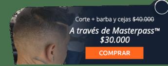 Corte para hombre + barba y cejas por $40.000 - Victoriana Peluquería Barbería Tatuaje Estética