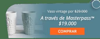 Hermoso vaso vintage decorativo por solo $29.000 - Casa de Palo Cerámica y Decoración