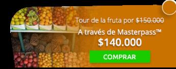 Tour de la fruta en Paloquemao por solo $150.000 - El Tour de la Fruta