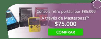 ¡Game Boy! Consola retro portátil por $85.000 - Tienda MAFF Colombia