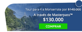 Tour nocturno para 4 personas al cerro de Monserrate por $140.000 - Travel Tours Bogotá