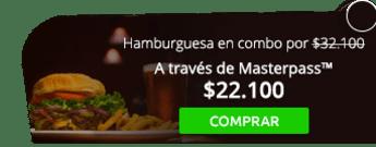 Hamburguesa para dos + papas y gaseosa por $32.100 - Bogotá Food Company