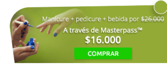 ¡Consiéntete! Manicure + pedicure + bebida por $26.000 - Sarani Spa & Beauty Care