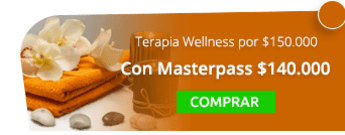 ¡Masaje de relajación! Terapia Wellness  por $150.000 - Blue Mont Spa