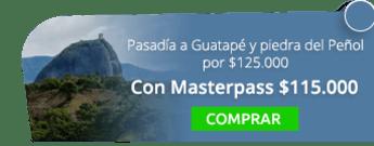 Super pasadía a Guatapé y piedra del Peñol por $125.000 - Vivir Viajando S.A.S