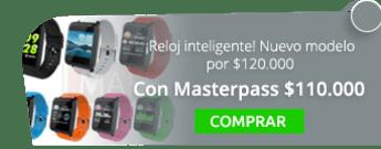 ¡Reloj inteligente! Nuevo modelo por $120.000 - Tienda MAFF Colombia