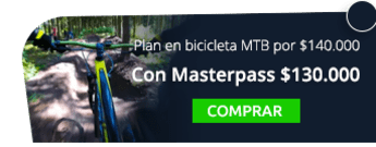 Plan en bicicleta MTB por solo $140.000 - Santaventura