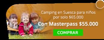 Camping en Suesca para niños por solo $65.000 - Santaventura