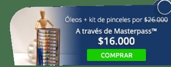 Caja óleos Maries más kit de pinceles por solo $26.000 - Empresuministros