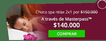 ¡Para renovarse! Choco spa relax 2x1 por $150.000 - Saman Spa