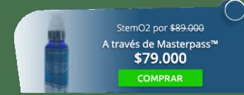 ¡Aprovecha! Precursor de células madre StemO2 por $89.000 - La Vida Es Oxígeno