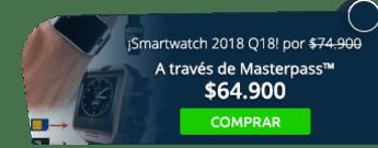 ¡Nuevo Smartwatch 2018 Q18! Por solo $74.900 - Tienda MAFF Colombia