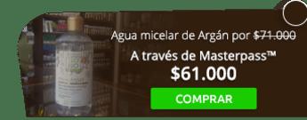 Agua micelar de Argán por solo $71.000 - Naturalísimos Country