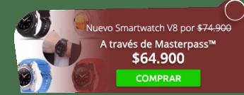 Nuevo Smartwatch V8 por tan solo $74.900 - Tienda MAFF Colombia