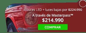 Luces LED más obsequio luces bajas por $224.990 - Ecolavado Pits