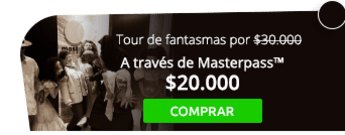 Asiste a un tour de fantasmas por $30.000 - AE Colombia Travel