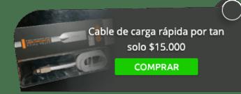 Tesla Servium - Cable de carga rápida por tan solo $15.000