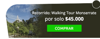 AE Colombia Travel - Recorrido: Walking Tour Monserrate por $45.000