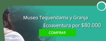 Tatú Tours Colombia - Museo Tequendama y Granja Ecoaventura por $80.000