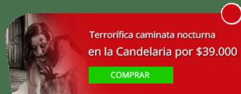 Tegua Guardianes de la Naturaleza - Terrorífica caminata nocturna en La Candelaria por $39.000