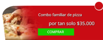 Pizzeria 360° - Combo familiar de pizza por tan solo $35.000