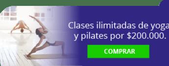Más que Yoga - Clases ilimitadas de yoga y pilates por $200.000