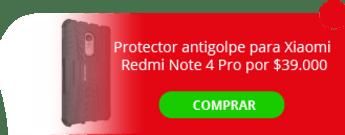 Protector antigolpe para Xiaomi Redmi Note 4 Pro por $39.000 - Carbontech Colombia