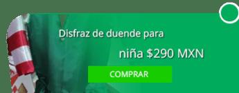 Disfraz de duende para niña $290 MXN - Disfraces Martha e hijas